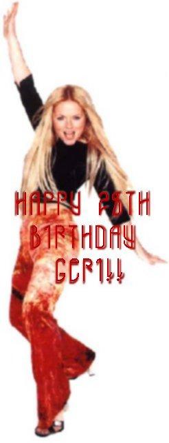Happy Birthday Geri!!